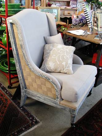 Reproduction French Arm Chair $950