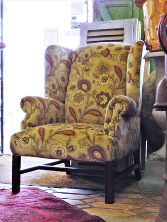 Gigantic Big Daddy Wing Back Armchair $950.00