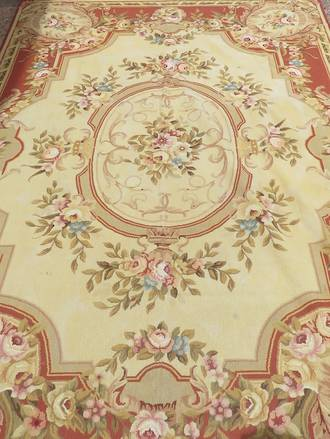 Large French Tapestry - Aubusson -$3500.00