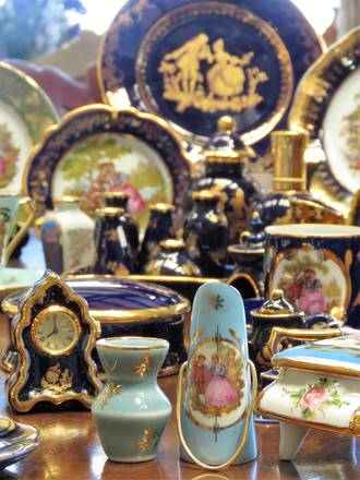 Vintage Limoges Porcelain Miniatures  - 40 years of Collecting!