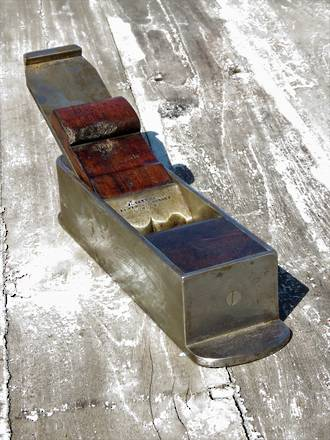 9 inch John Buck Rosewood Infill and steel  Coffin Mitre Plane. RARE!! $2500.00