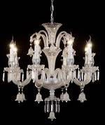 Fancy French Large  Crystal Bell Chandelier $3950.00