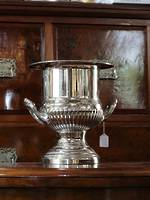 Vintage Silver Plate Champagne Ice Bucket $395.00