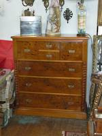 Mottle Kauri Chest of Drawers