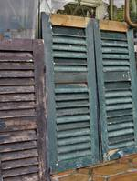 French Antique Shutters - Small $250 pair