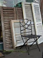 Original French Shutters - Small Single $165, Med Pr $350 Lg -$450 pr