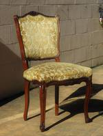 6 x Upholstered French dining chairs $1500.00 set of 6
