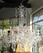 "Very Large Crystal Chandelier. As seen on ""Dancing with the Stars""TV series. $22,000.00"