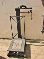 Antique Farm Scales, Industrial Chic $995.00