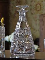 Webb and Corbett Crystal Decanter