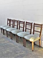 Edwardian Dining Chairs x 6 $1500