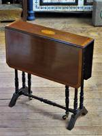 Elegant Edwardian Folding Leaf Table sold