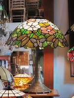 Butterfly Wing Tree Mosaic Lamp