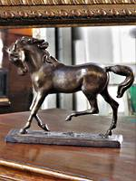 Bronze Horse Sculpture $350