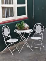 French Style Collapsible Cafe Set = 3 Piece - Out of Stock =Can order in