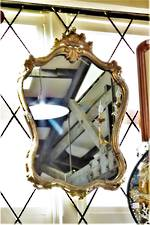 Rococo Style Carved & gilded Framed Mirror $950