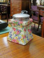 Royal Winton Chintz Tea Canister Jar