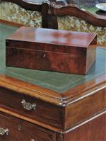 Very Fine French Madrone & Walnut Writing Slope Box