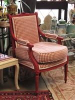 Original French Country Chair in Red $950.00