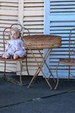 Vintage Child Size Cafe Set - 3 Piece $450.00 3pc set
