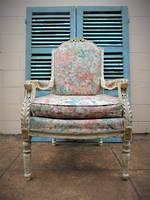 French Provincial Antique Armchair $950