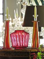 Waterford Moroccan Breeze Hand Blown Candlesticks