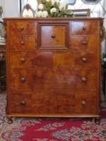 Museum Quality New Zealand Native Timber Chest of Drawers - J E Jansen SOLD