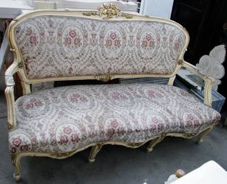 Antique French Settee  $2250.00