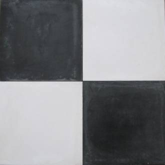 New Plain Black shown with Plain White Tile $7 each