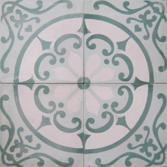 New Green Circle Tile $7 each