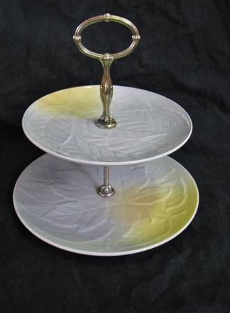 Royal Winton 2 tier cake plate