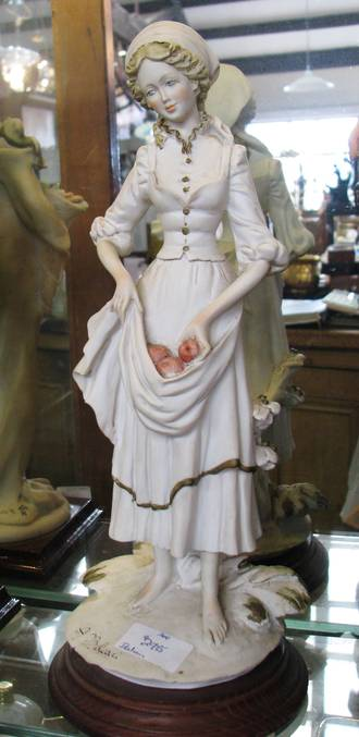 Italian Figurine Bisque Lady
