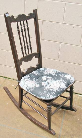 Canadian Spindle back Rocking Chair