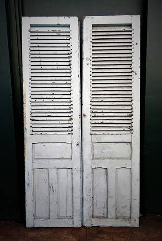 Antique French Shutter Doors $900pr