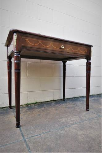 French Antique Sofa Table, Hall Table or Desk $1195
