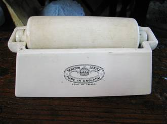 Antique Stamp wetting Roller Stamp collecting collectible!