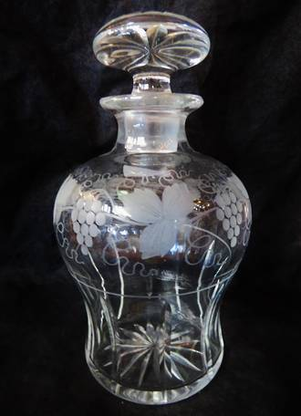 Crystal Sherry Decanter