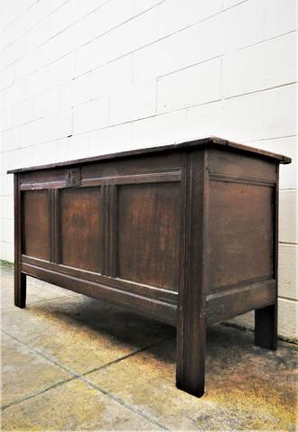 17th Century Oak Coffer  $2500.00