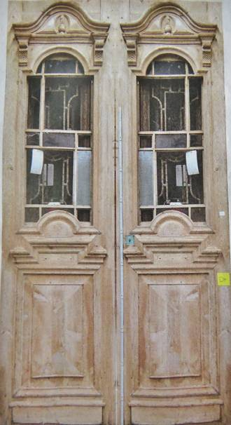 Large stunning French Wooden doors $5500 pair
