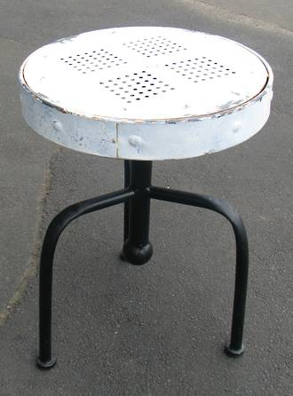 Industrial Style Metal Stool