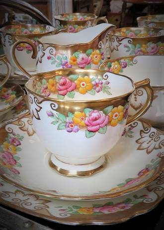 Royal Albert Tea set 'Cambridge'  21 pc