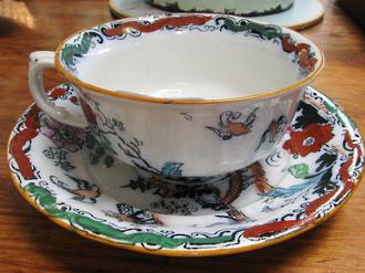 Mason's Ironstone Cup & Saucer