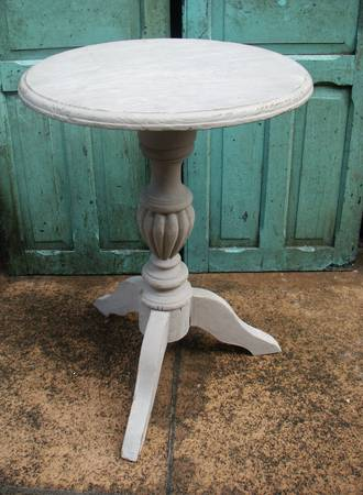 Shabby Chic Antique Occasional Table