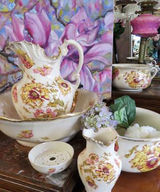Victorian Dressing Table Wash Set - 6 piece $595