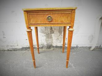 Antique French Bedside Table $550