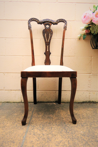 French Antique Salon Chair $350