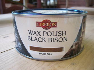 Liberon Wax Polish 500ml - Dark Oak