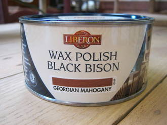 Liberon Wax Polish 500ml - Georgian Mahogany