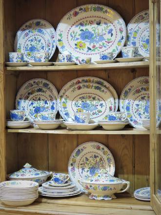 Masons Ironstone Dinner Service  Regency $1250.00