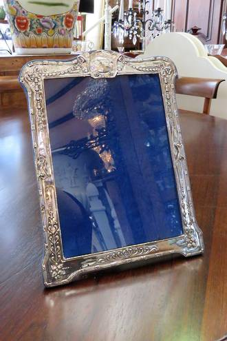 Large Sterling Silver Photo Frame $375